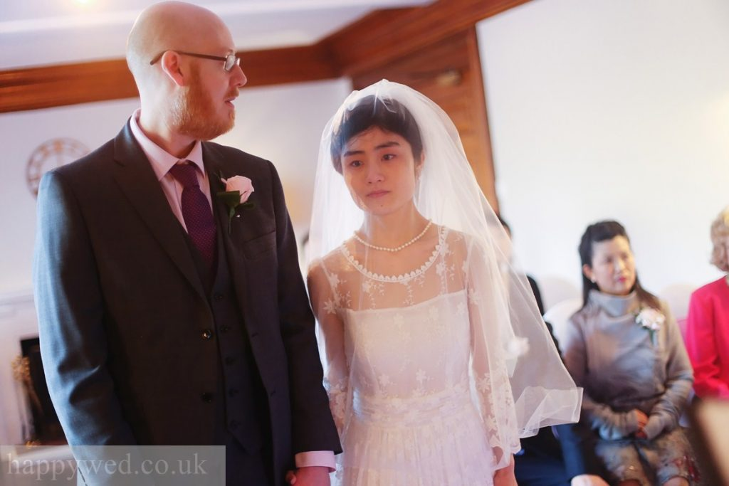 wedding registration ceremony at manor parc hotel Cardiff
