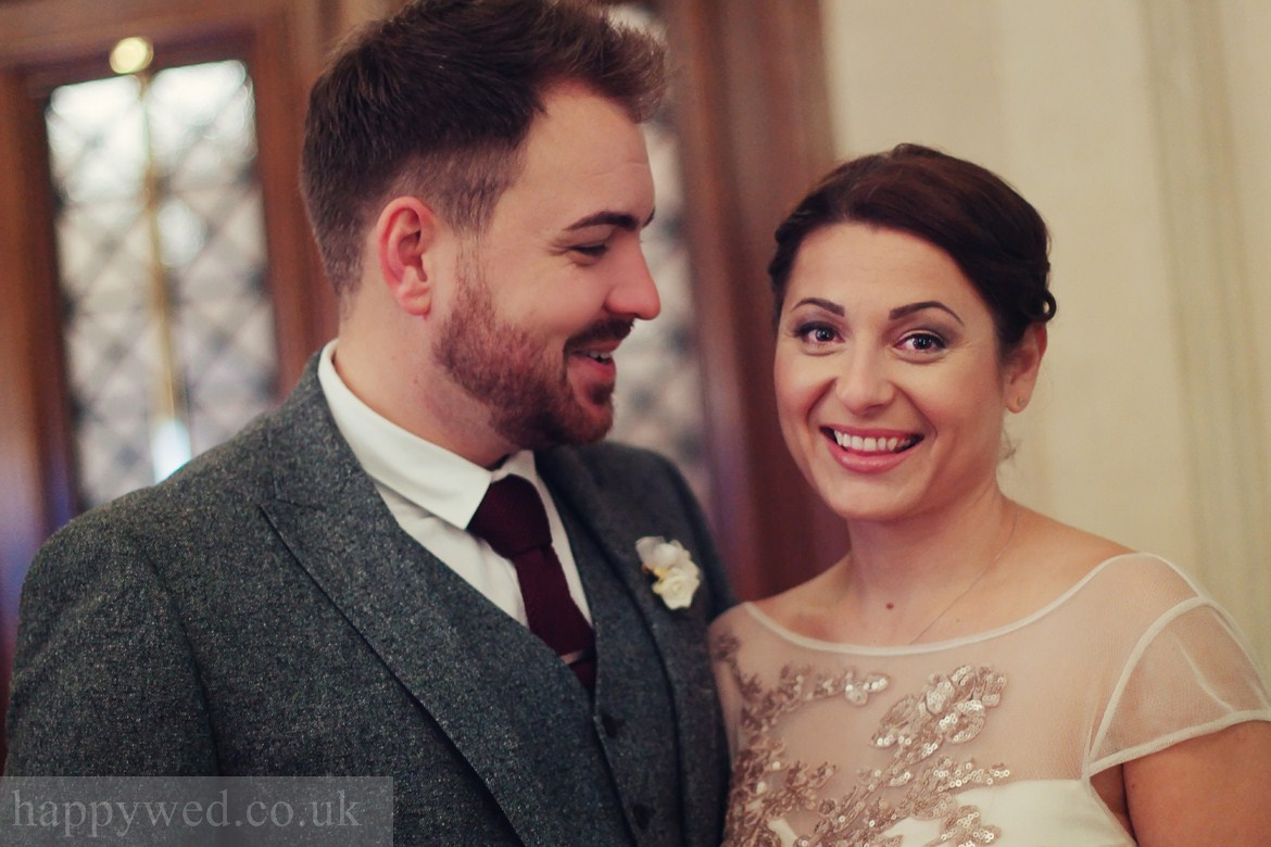 Marriage registration Cardiff city hall photographs