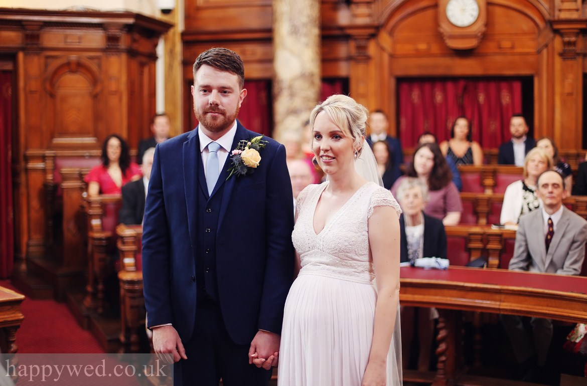 Council Chamber Cardiff wedding