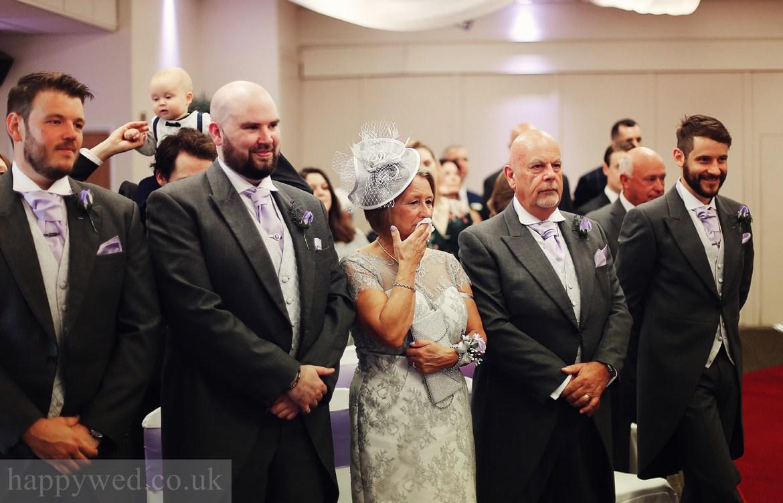 wedding ceremony Glyn Clydach Hotel