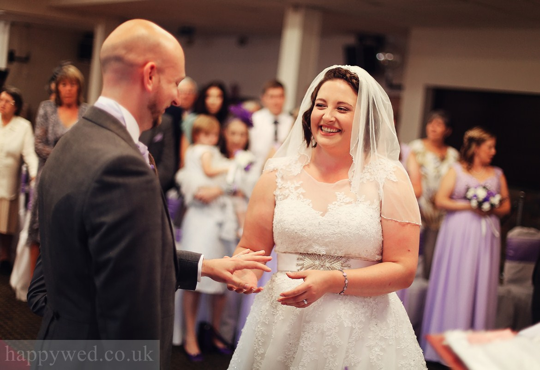 wedding at Glyn Clydach Hotel