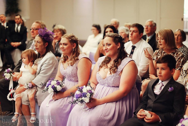 marriage ceremony Glyn Clydach Hotel