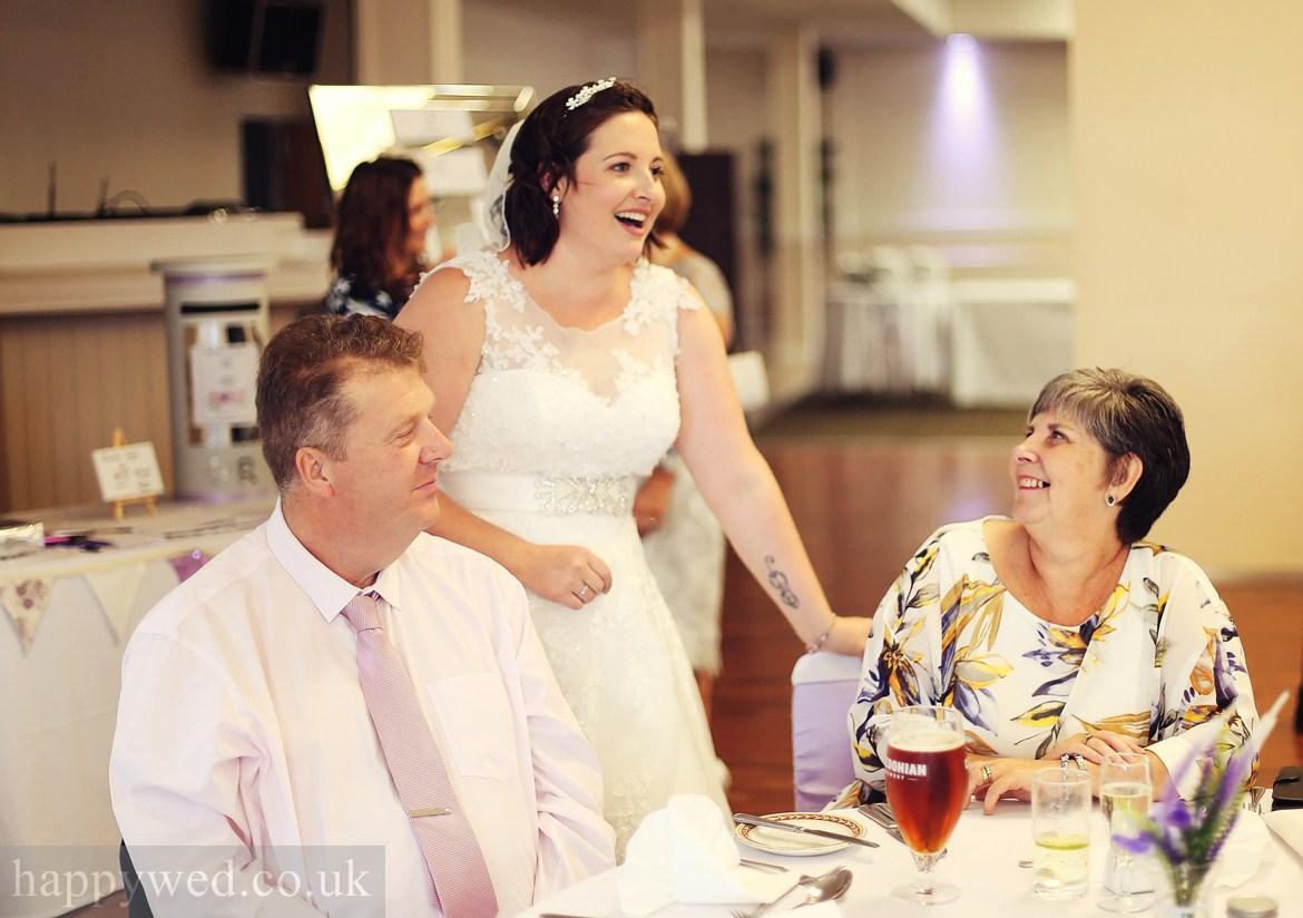 wedding reception at Glyn Clydach Hotel