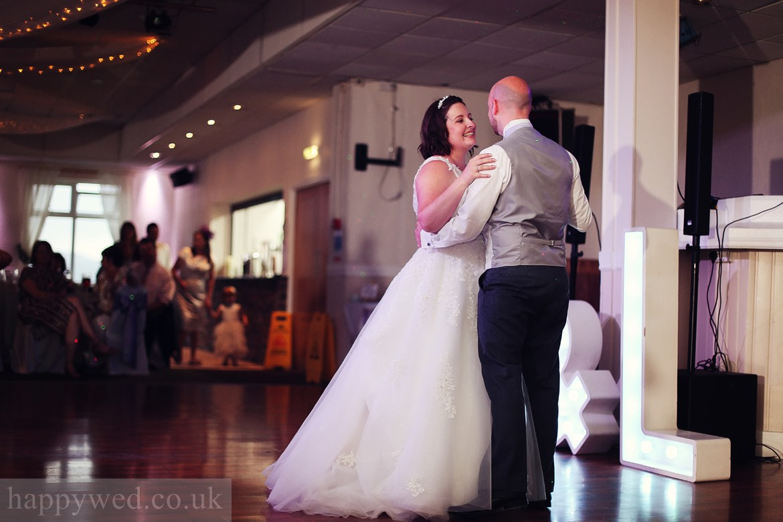 wedding party at Glyn Clydach Hotel