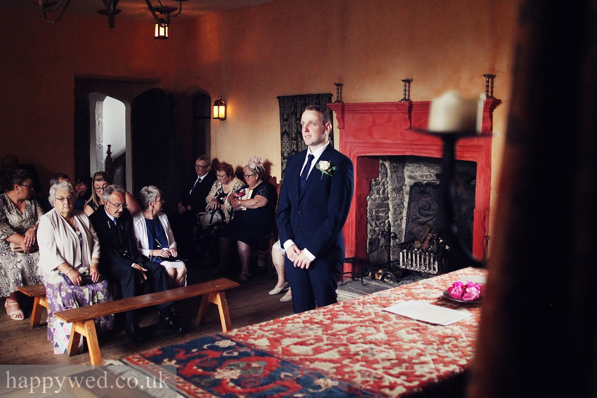 natural light wedding photos Llancaiach Fawr Manor