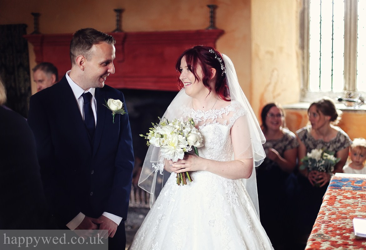 Llancaiach Fawr Manor wedding ceremony