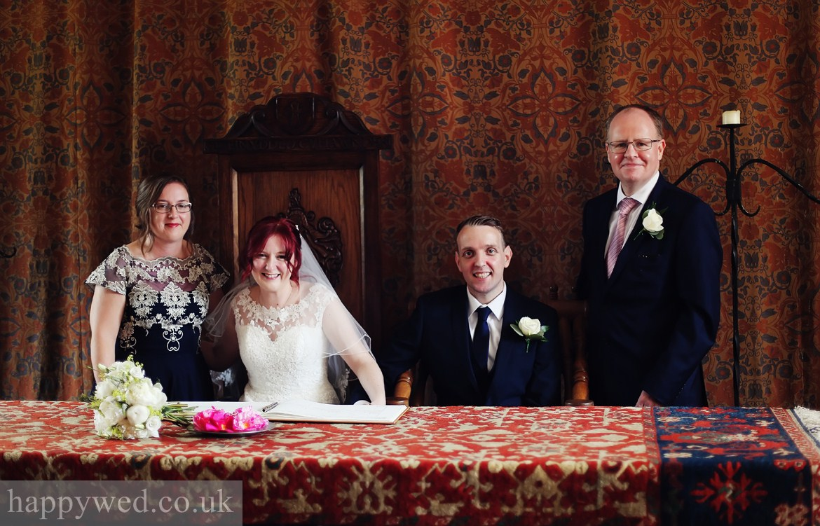 Llancaiach Fawr Manor marriage registration photographs