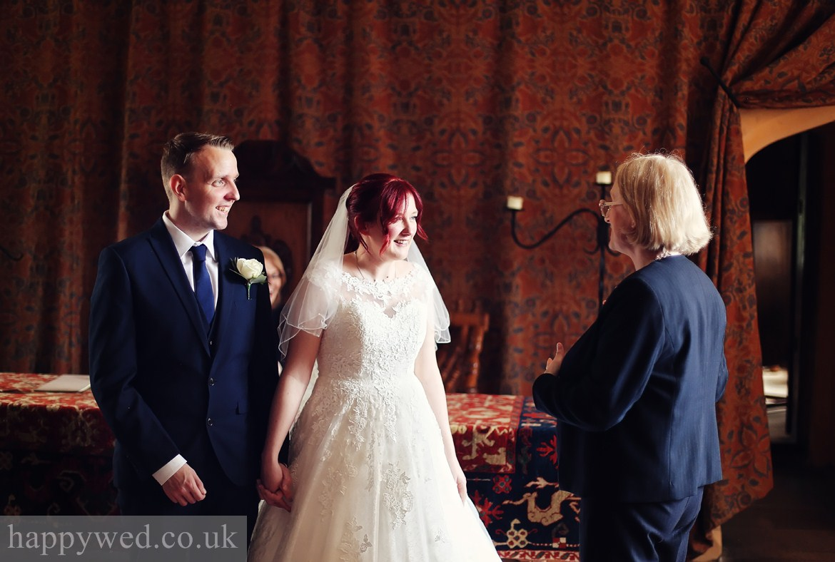 wedding photo Llancaiach Fawr Manor