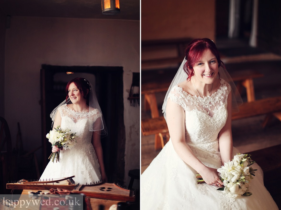 wedding photos Llancaiach Fawr Manor