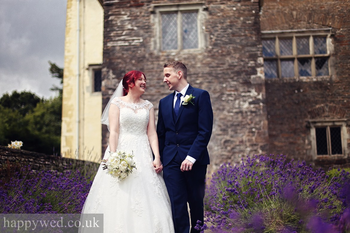 wedding photography at Llancaiach Fawr Manor
