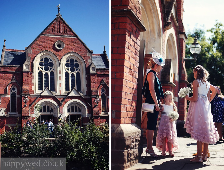 The Art Shop and Chapel wedding Abergavenny