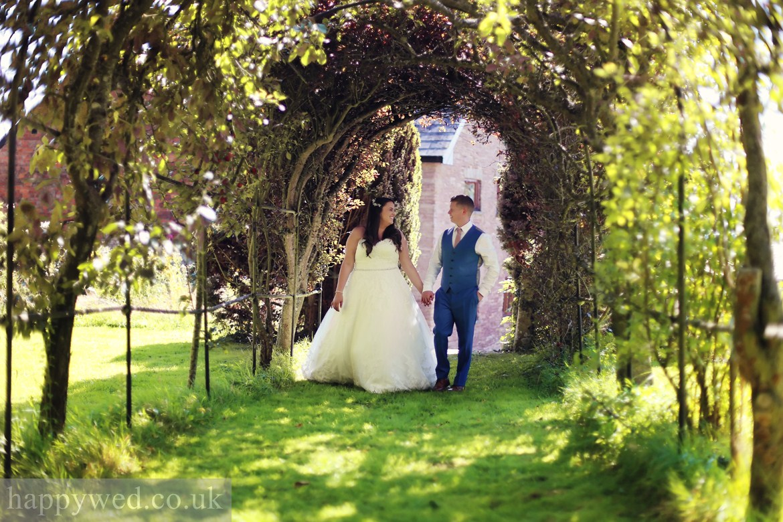 Wedding photography at Treadam Barn Trust