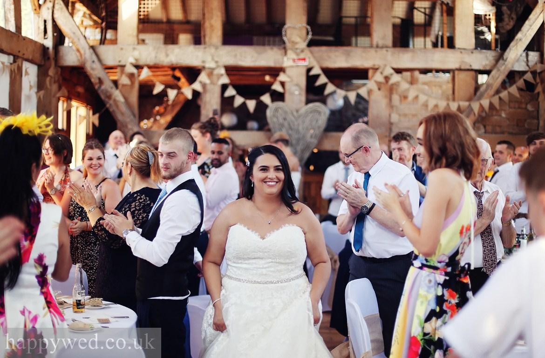 Wedding photography at Treadam Barn