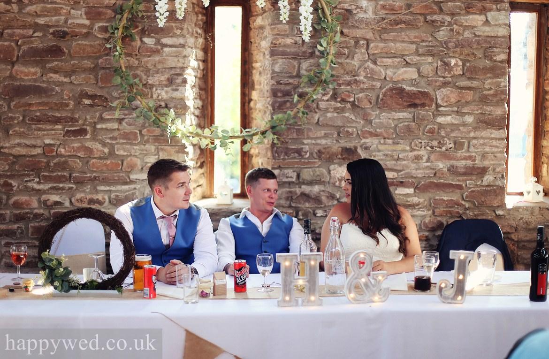 Treadam Barn wedding photograph