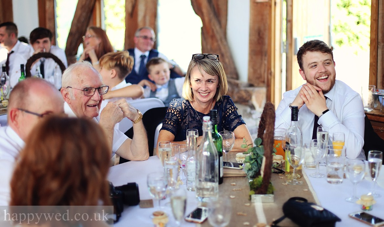 wedding photos Treadam Barn