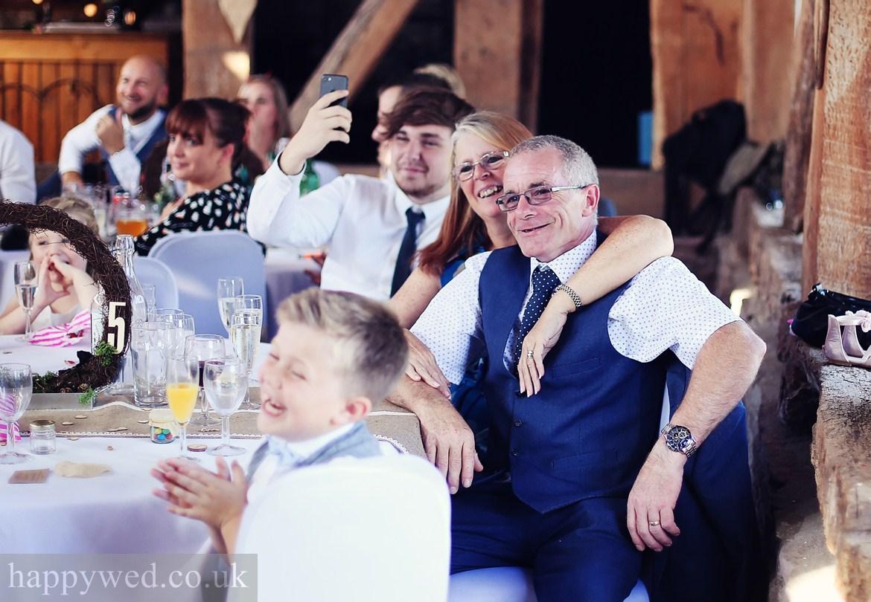 Wedding photo Treadam Barn
