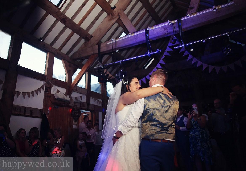 Treadam Barn wedding photo