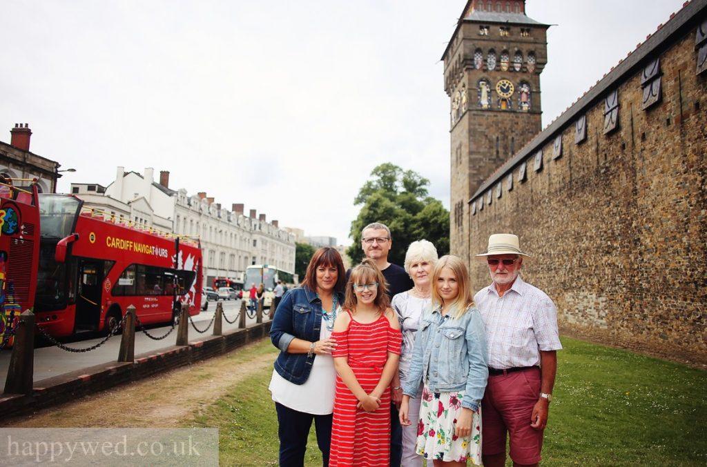 Cardiff castle family photographer