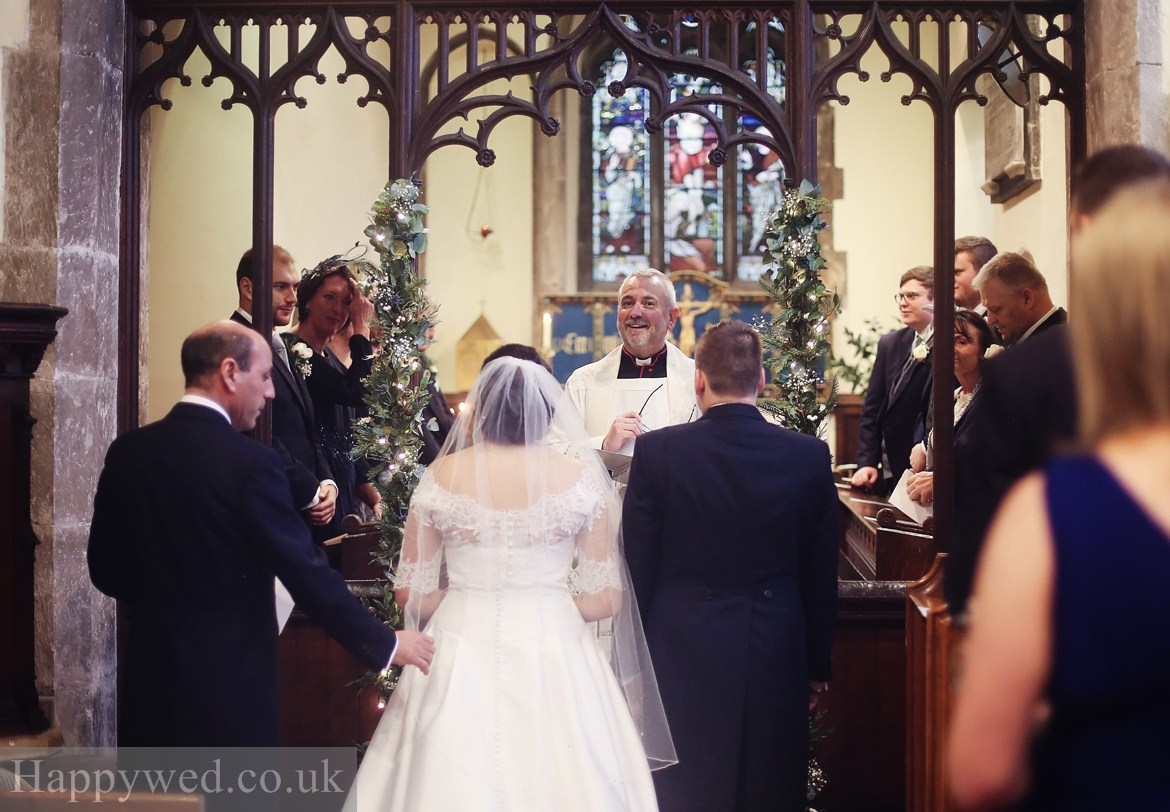 st Peters Church peterston super Ely wedding