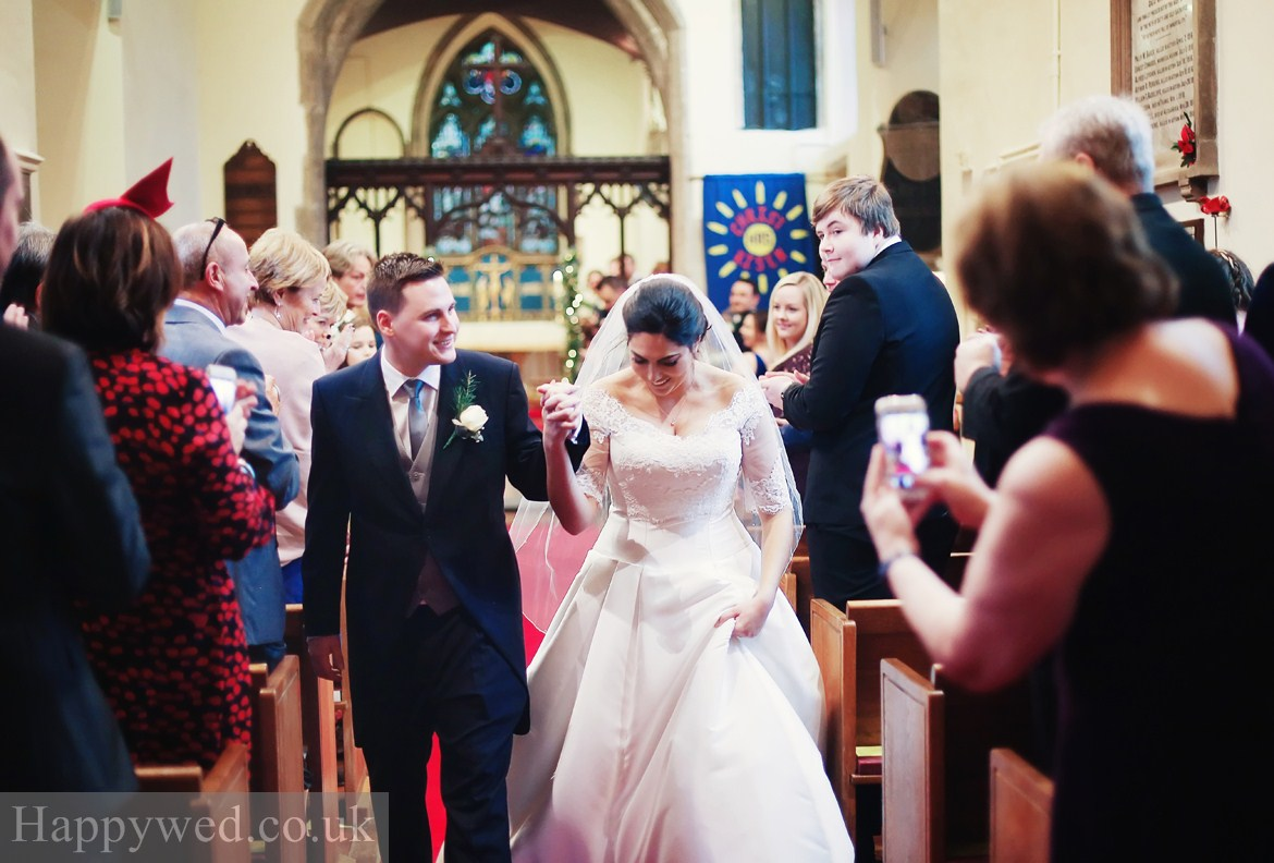st Peters Church peterston super Ely wedding ceremony photos