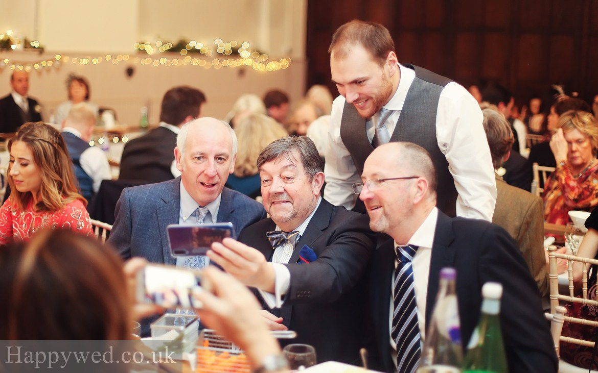 peterston super Ely hall wedding breakfast photos