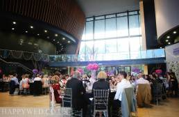 Reception photos at Royal Welsh College of Music Drama