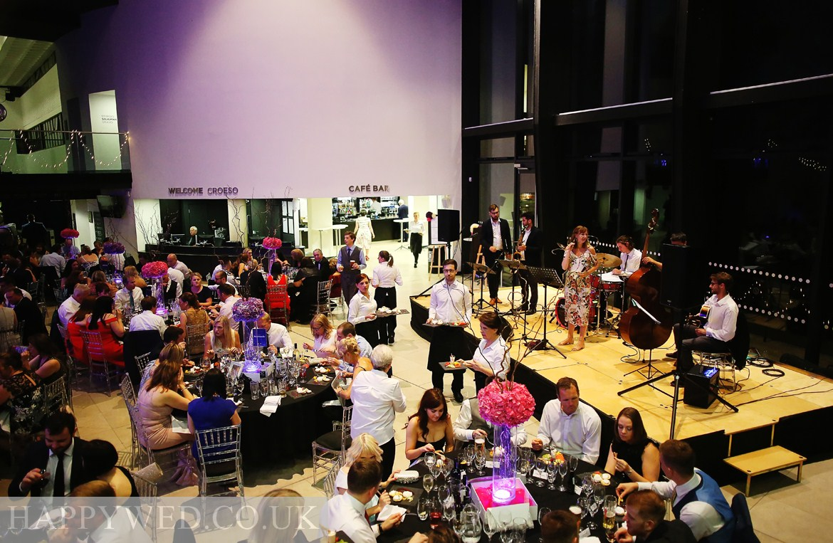 Reception at Royal Welsh College of Music Drama