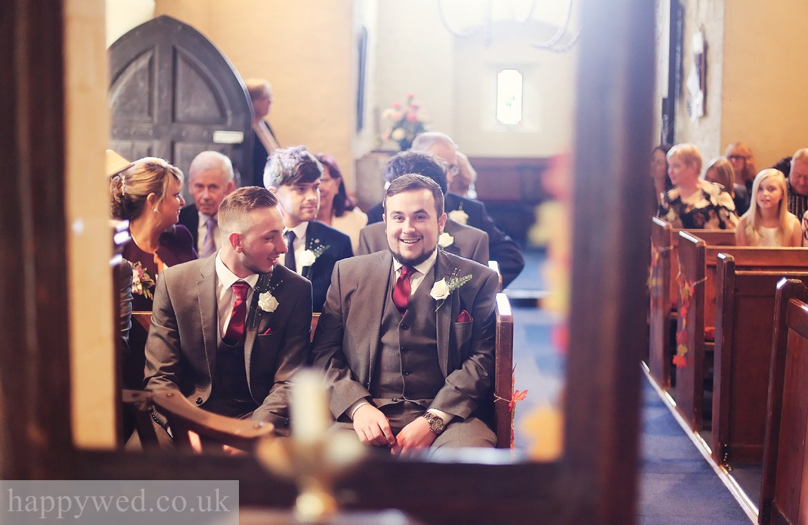 St Curigs Church Barry wedding photography