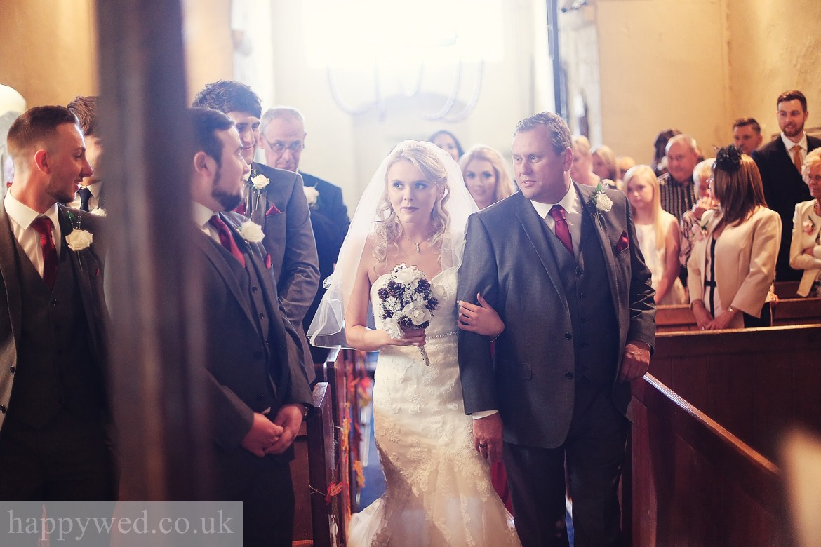 wedding photography at St Curigs Church Porthkerry