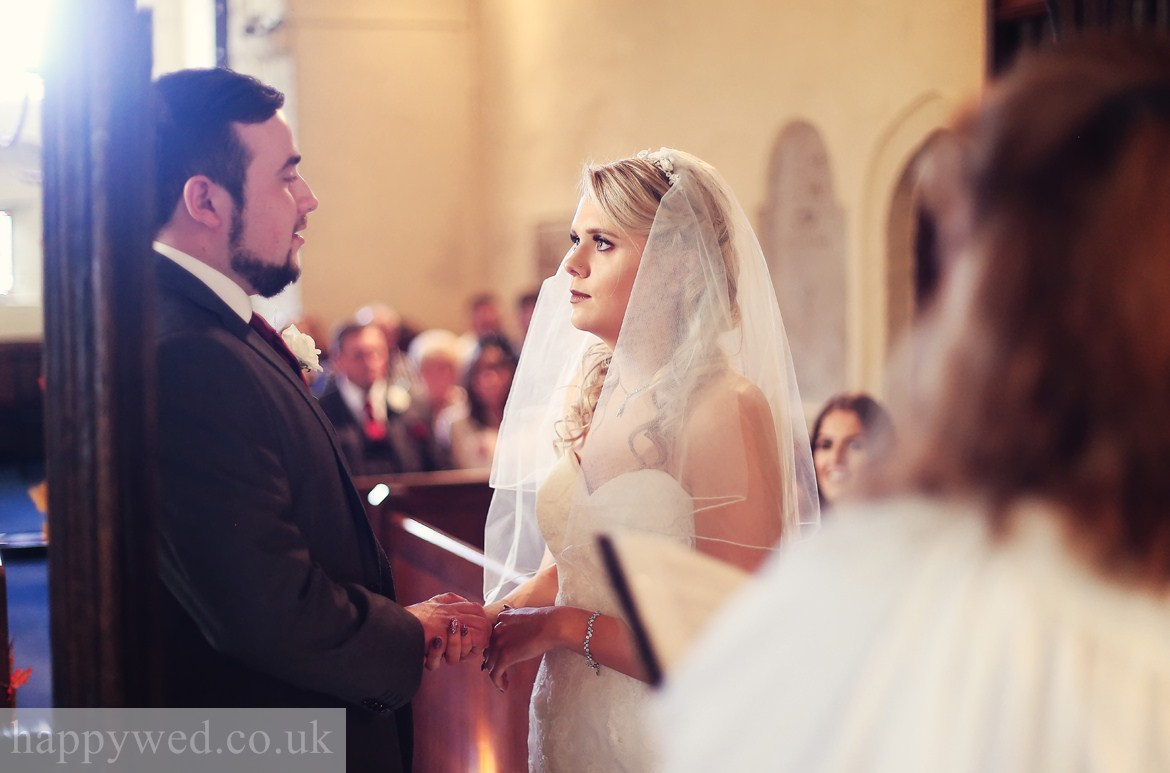 St Curigs Church Porthkerry wedding photographs