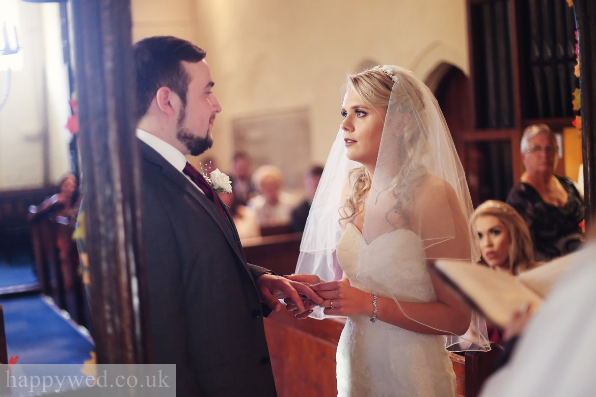 wedding photographer at St Curigs Church Porthkerry