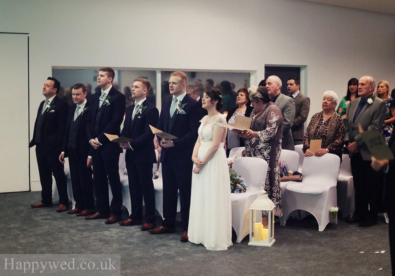 Waterfromt community church Swansea Wedding