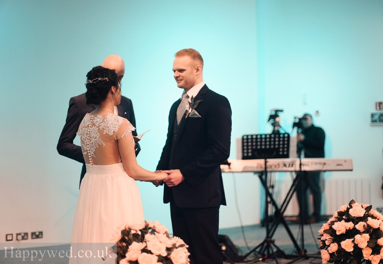 Waterfromt community church Swansea Wedding photographs