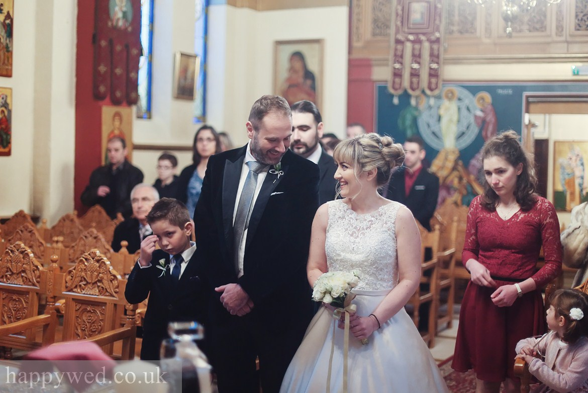 wedding photography at greek church of St Nicholas cardiff