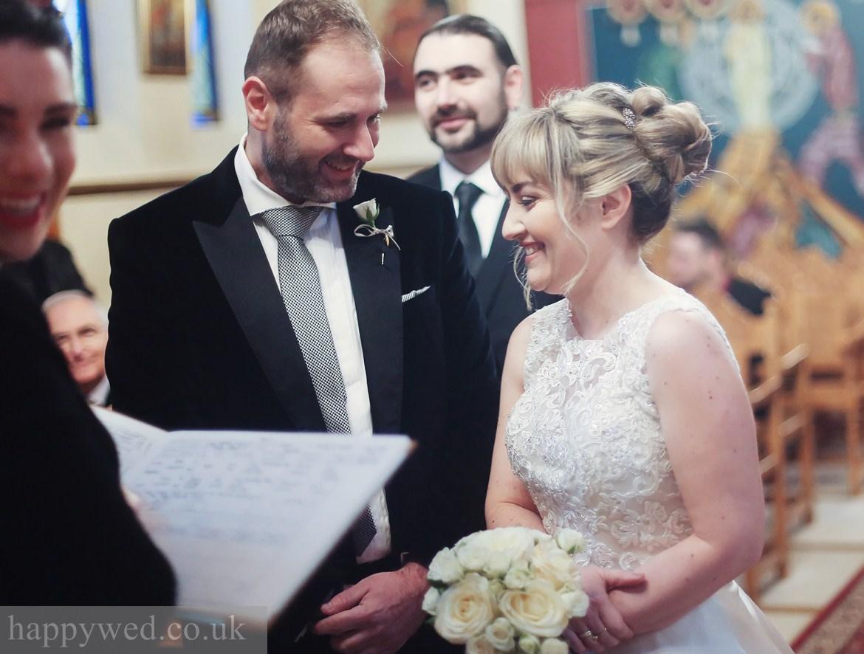 wedding photography at greek church of St Nicholas cardiff