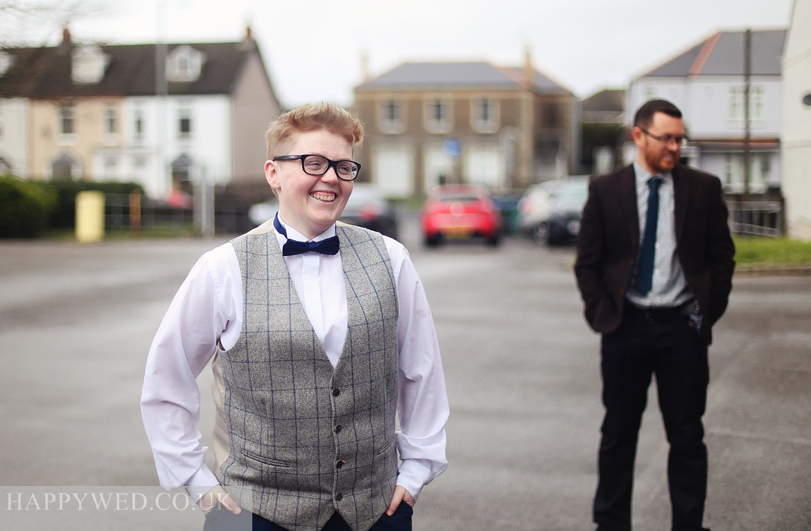 Wedding photography at Neath Registry Offices