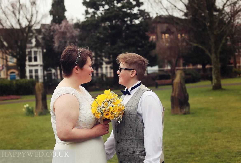 Wedding photos Neath Victoria Park