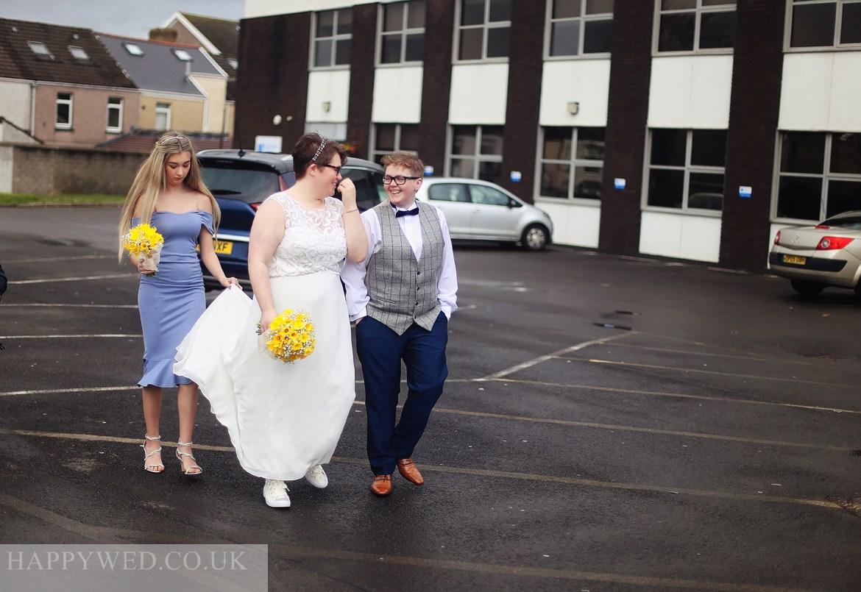 same sex wedding photographer Neath Port talbot