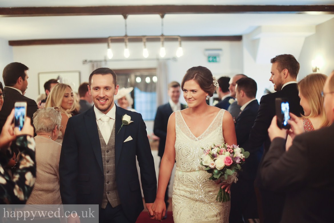 ceremony at Great House Hotel Bridgend