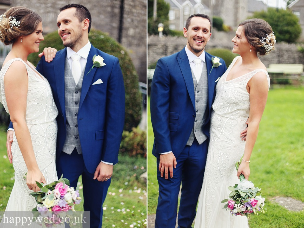 wedding photos at Great House Hotel Bridgend