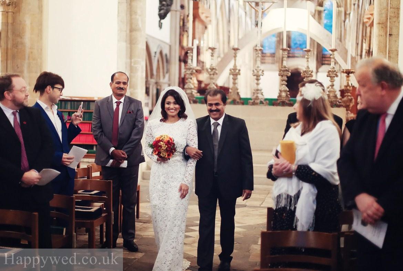 Llandaff Cathedral Cardiff wedding photo