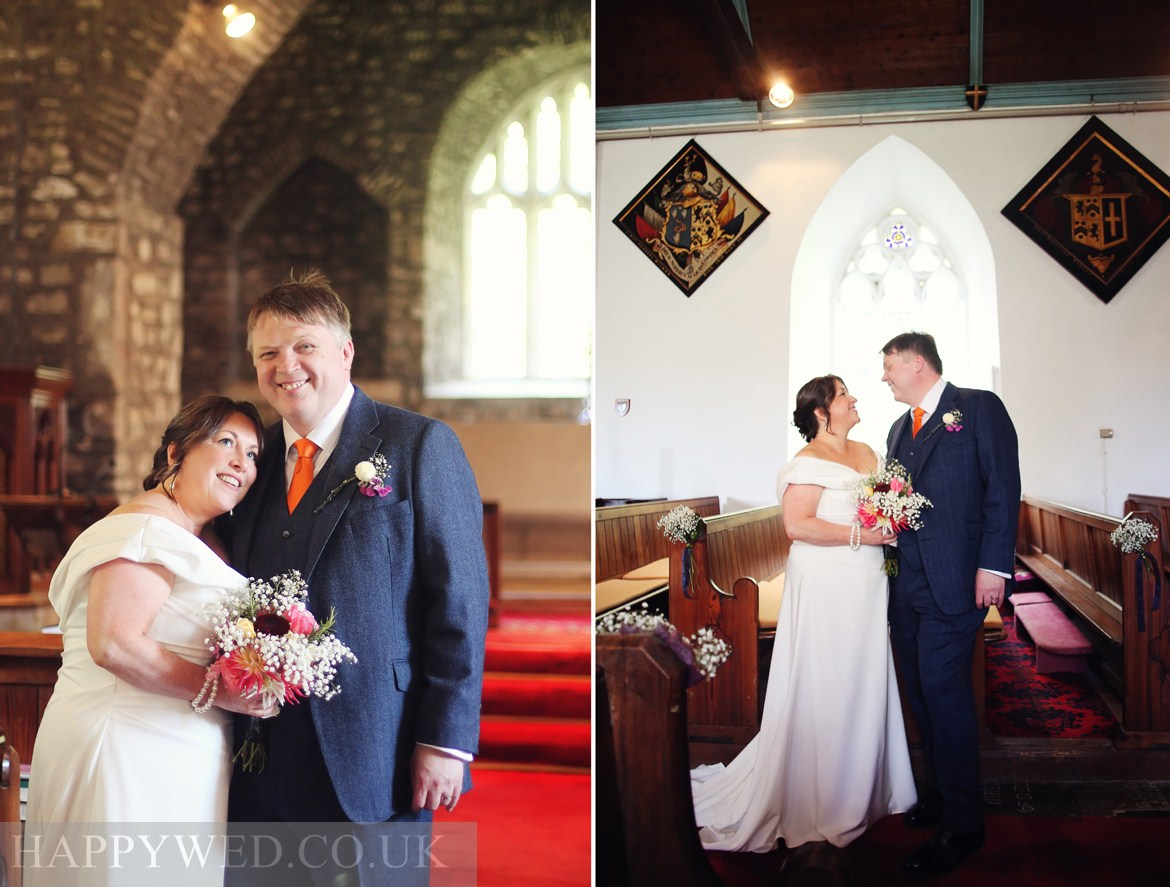 St Michael All Angels Lower Machen wedding