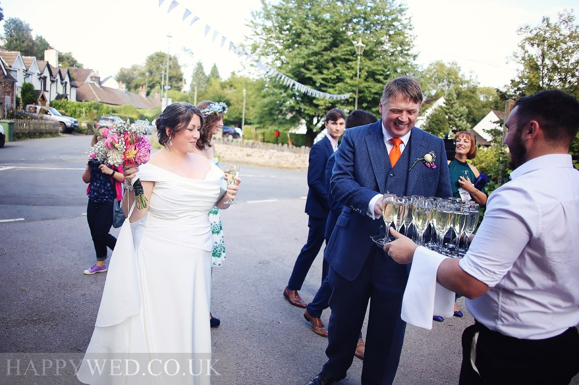 wedding photography at The Hollybush Inn Draethen