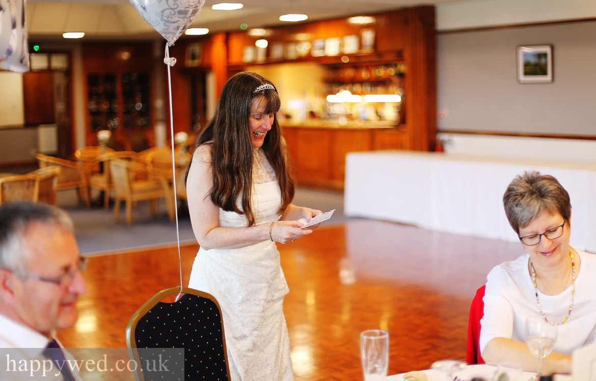 Llanishen golf club Cardiff wedding