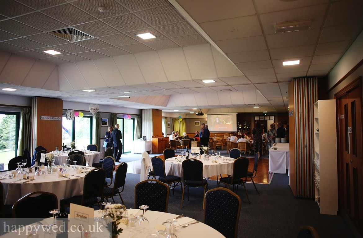 Llanishen golf club Cardiff wedding reception photos