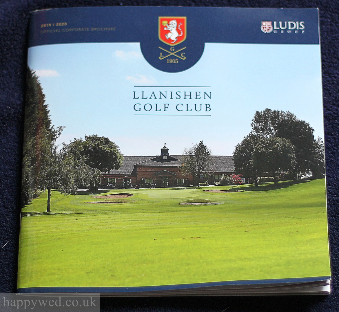 llanishen golf club annual brochure photography