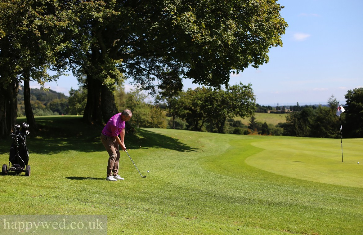 commercial photography cardiff for golf clubs