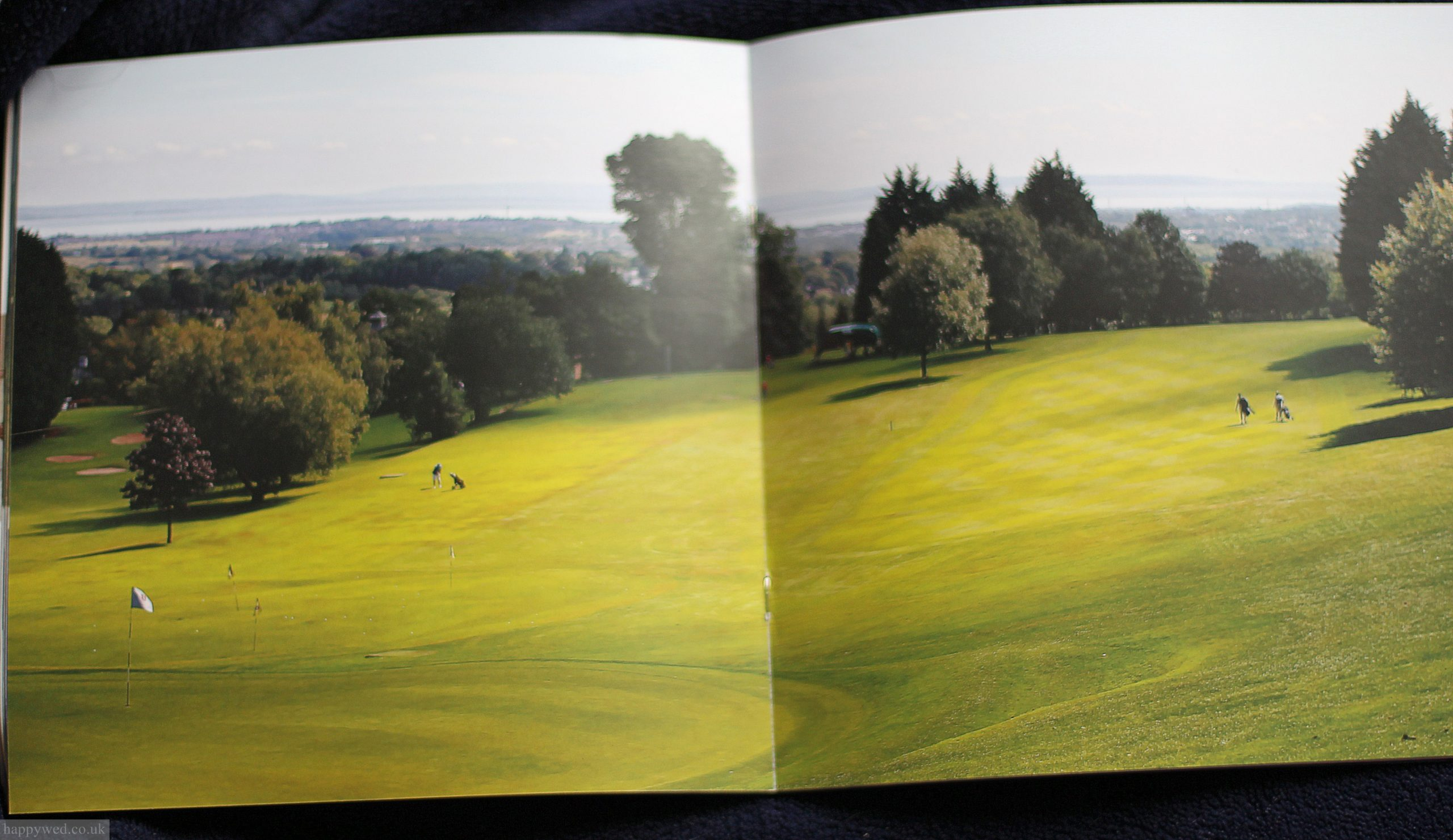 llanishen golf club annual brochure photographs