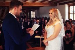 wedding ceremony caerhyn farm carmarthen photos