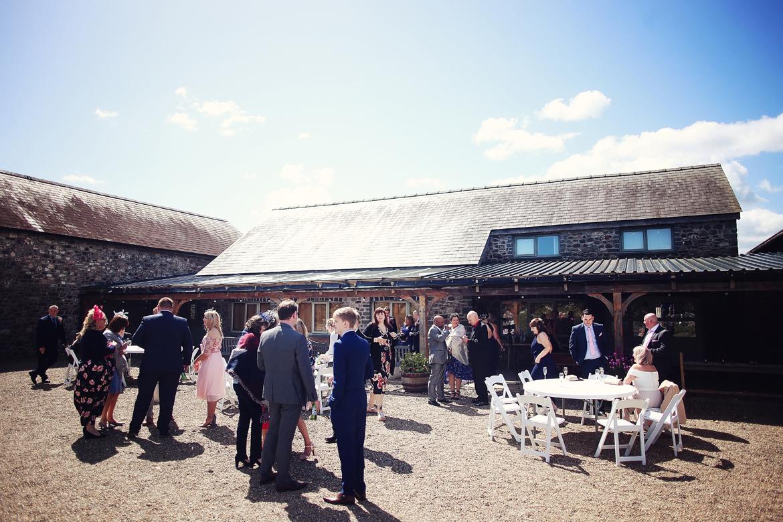 wedding photography caerhyn farm
